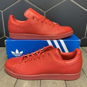 Adidas Stan Smith Adicolor Scarlet Red Skate Shoes